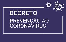 DECRETO 3205-2020 - calamidade pública Covid 19