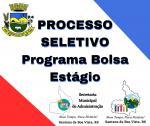 PROCESSO SELETIVO ESTÁGIO ESTUDANTES