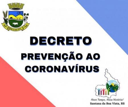 DECRETO Nº 3.302 Calamidade Pública - Covid - 19