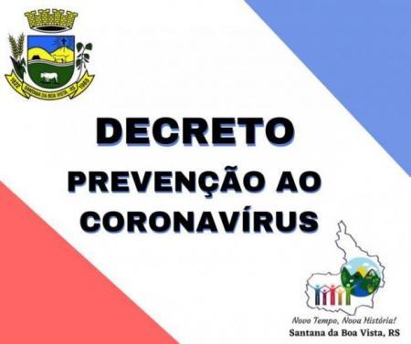 DECRETO Nº 3.348 - Calamidade Pública - Covid 19